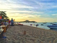 Bophut beach during sunset ❤️
