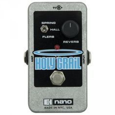 £65. Electro Harmonix Nano Holy Grail Reverb effect pedal | Reverb & Delay | Bax-shop | Your Music Revolution