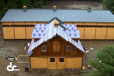 Indoor Riding Arena With Horse Barn In China, Maine - DC Building
