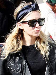 Celine Knot Headscarf | Ashley Olsen