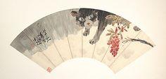 Zhang Yugong (Chinese, 1885–1968). #Cat, 20th century. The Metropolitan Museum of Art, New York. Gift of Robert Hatfield Ellsworth, in memory of La Ferne Hatfield Ellsworth, 1986 (1986.267.298) #cats #DecorativeChineseArt