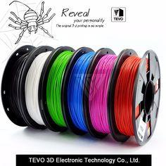 """HOT PRICES FROM ALI - Buy filament PLA filament Multi-colors plastic spools filament printer filament impressora filamento"""" from category """"Computer & Office"""" for only 30 USD. 3d Filament, 3d Printer Filament, Printer Scanner, Cool Things To Buy, Stuff To Buy, 3d Printing, Product Launch, Plastic Plastic, Campaign"""