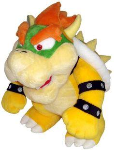 "Super Mario Plush - 10"" Bowser Soft Stuffed Plush Toy Japanese Import SANEI http://www.amazon.ca/dp/B002WJI626/ref=cm_sw_r_pi_dp_NktXwb12VAQCH"