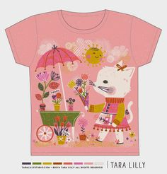 Art and Illustration by Tara Lilly Studio: Lilla Rogers' GTS Round 2