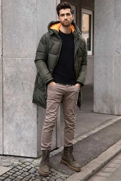 How To Wear Timberlands, Timberland Boots Outfit, Black Timberlands, Outfits Hombre, Casual Outfits, Men Casual, All Black Looks, Double Denim, All Black Outfit