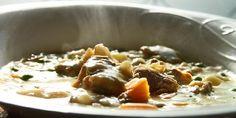 Lammefrikasse - Med en god frikassé på bordet er det vanskelig å stoppe og spise.