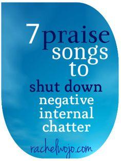 Praising Jesus overpowers potential negativity!