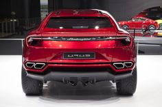 2016 Lamborghini Urus - design, engine & specs