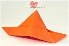 I {heart} origami... for the new king