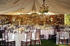 There's something lovely about having a wedding in your own back yard. If you have a large enough space or a small enough guest list, you can host a party that won't be forgotten anytime soon. These 10 backyard weddings are some of our favorites. They cover the range of styles and sizes, but they all make great use of the spaces available.