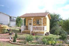 Golden+Yellow+Garden+Shed