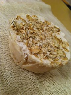 White Amber and Oatmeal Soap $4