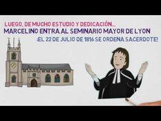 Vida de Marcelino Champagnat para niños - YouTube