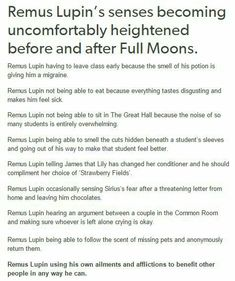 This proves, however naughty he was, that Remus Lupin was a truly great person!! Still miss you Moony!