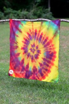 Spiral Te Dye Technique #tiedyeyoursummer #michaelsmakers