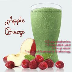 Apple Breeze Shakeology (Greenberry)~ Follow my blog for tons of recipes, and a new one weekly!