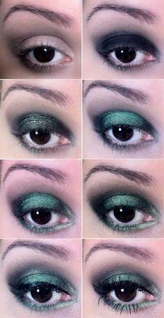 maquiagem verde esmeralda - a cor de 2013 - makeup green - tudo make 02
