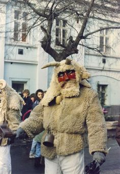 Buso (Busho) festival in Mohacs, Hungary