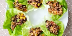 I liked these Quiona & Black Bean Lettuce Wraps but don't know if I'd make them all the time