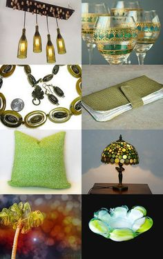 My wallet is featured here - Spring Green by Amy on Etsy--Pinned with TreasuryPin.com