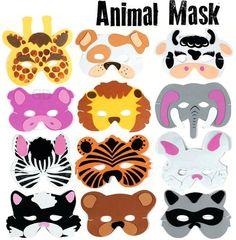 animal masks for Noah's Ark