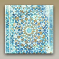 Oliver Gal Incense Mandala Graphic Art on Wrapped Canvas & Reviews | Wayfair