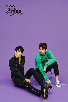 Ravi & Hyuk VIXX Teaser Zelos