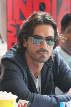 Arjun Rampal - Indian film actor, producer, and former supermodel.- at a D-Day Press Conference in Pune.
