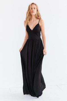 Silence + Noise Water Works Strappy-Back Dress