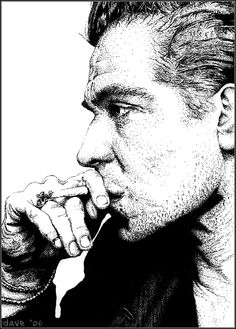 Pointilism Gary Oldman  by *BikerScout
