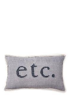 ETC. Pillow