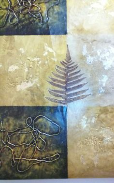 Gold Leaf II Oil Painting. 20x24 painted by Tom L and available for purchase at Dylan's Unique Gifts & Weddings