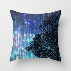 Waiting For The Night Throw Pillow by Android-Sheep - $20.00