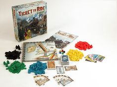 Amazon.com: Ticket To Ride - Europe: Game: Toys & Games