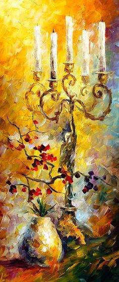 0201  Oriental Dreams 1 Print by Leonid Afremov