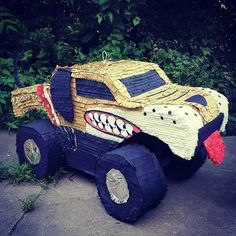 Monster Truck pinata! #MonsterMutt