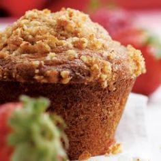 "strawberry orange muffin by ""The bikini chef"""