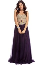 Alessandra Eggplant Divine Dress