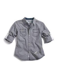 GUESS Kids Boys Long-Sleeve Olsen Shirt « Clothing Impulse