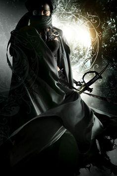 Kunoichi (by Larry Rostant) Fantasy Inspiration, Story Inspiration, Character Inspiration, Fantasy World, Dark Fantasy, Fantasy Art, Fantasy Warrior, Fantasy Characters, Female Characters