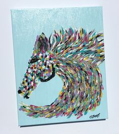 Horse Painting - SOLD