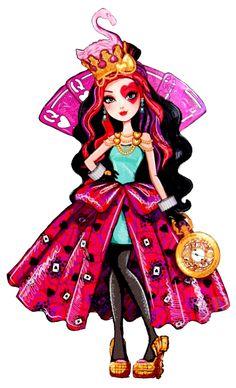 Way to Wonderland - Lizzie Hearts Lizzie Hearts, Queen Of Hearts, Adventures In Wonderland, Alice In Wonderland, Disney Drawings, Cute Drawings, Ever After High Rebels, Arte Do Kawaii, Chica Cool