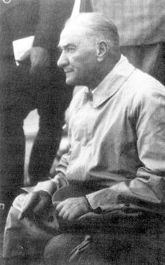 Mustafa Kemal Atatürk (11 Eylül 1938)