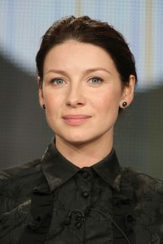 Caitriona Balfe at TCA 2015 panel for Outlander on Starz 1-9-2015