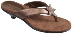 $69.00-$59.99 Aerosoles Women's Adorable Sandal,Bronze Combo,11 M US - Women's Aerosoles , Adorable thong Sandals  A Fun thong style sandal for everything from everyday wear to a dressy beach wedding  Crystal Star fish embellishment on strap for added sparkle  plush cushioned footbed  Flexible rubber sole  low, 1 3/4 inch heel  http://www.amazon.com/dp/B0060GWBJ6/?tag=icypnt-20