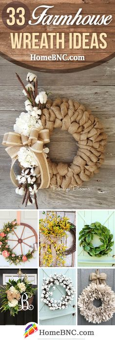 These could be made with recycled things. Rustic Farmhouse Wreath Ideas - These could be made with recycled things…just saying! Rustic Farmhouse Wreath Ideas These could be made with recycled things…just saying! Burlap Crafts, Wreath Crafts, Diy Wreath, Door Wreaths, Diy Crafts, Wreath Ideas, Wreath Burlap, Ribbon Wreaths, Floral Wreaths