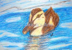 Oil pasteling a duckling  https://youtu.be/rvUsrJMwLok