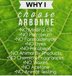 Just a few from my 27765 reasons WHY I choose Arbonne #vegan #crueltyfree #notoxins… visit my site for the complete line of healthy products that Arbonne offers SusanSakys.Arbonne.com