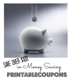 Print over $100 in coupons on everyday items like groceries, toiletries, and more!! #coupons