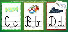 Alfabet- plansze demonstracyjne. Jest to zestaw pomocy dydaktycznych, które przydadzą się w każdej klasie i sali przedszkolnej. Darmowe pliki PDF na stronie.
